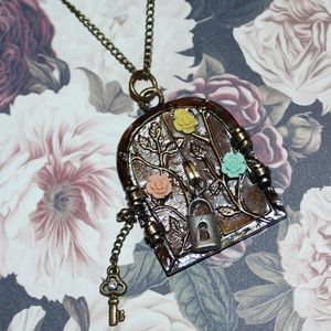 New Fairy Door Necklace Boutique